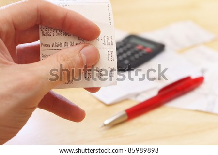 budget planning - stock photo