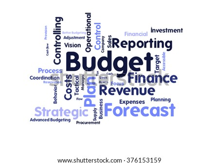 Budget word cloud