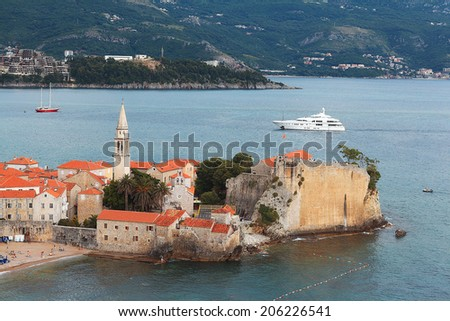 Budva Montenegro Adriatic Sea