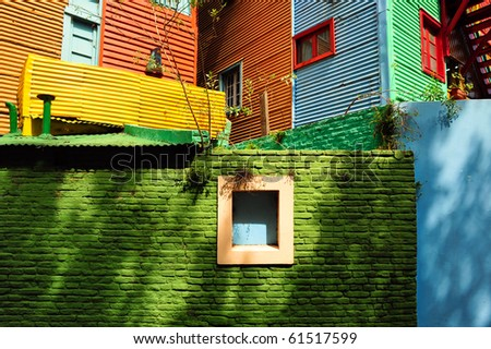 Buenos Aires, Argentina, Bocca district - stock photo