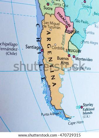 Argentine Map Stock Images RoyaltyFree Images Vectors - Argentina map tucuman
