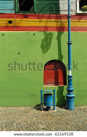 Buenos Aires, Boca district - stock photo