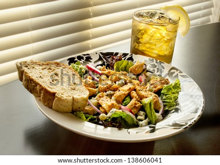Buffalo Chicken Salad - stock photo
