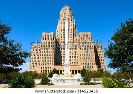Buffalo City Hall - stock photo