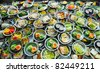Buffet food on the table - stock photo