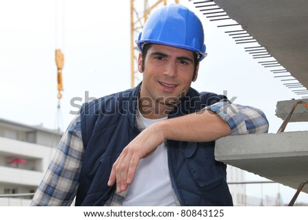 Builder - stock photo
