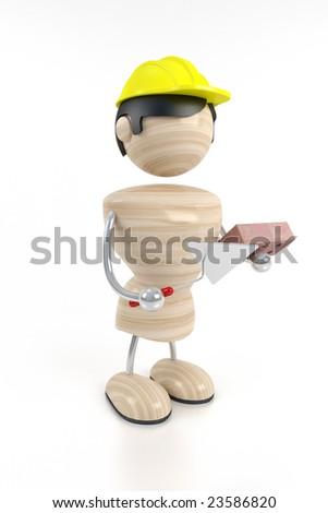 builder, worker - stock photo