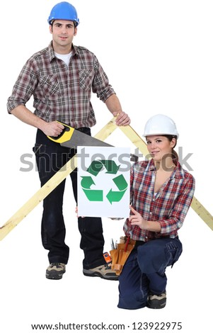 Builders pledging to recycle