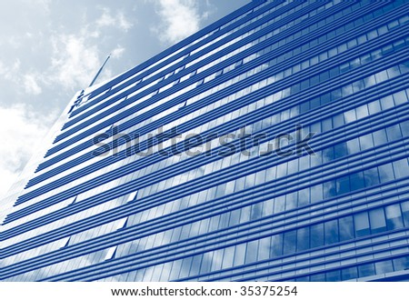 Building a background - stock photo