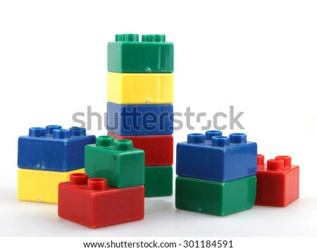 Building Blocks - stock photo