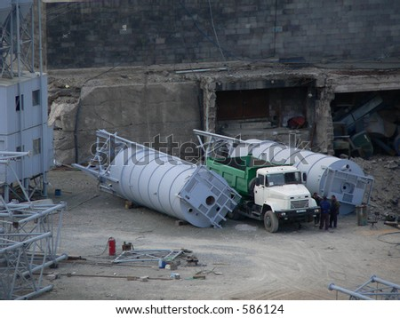 building bussines - stock photo
