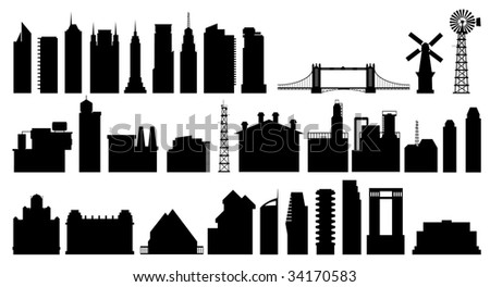building collection - stock photo