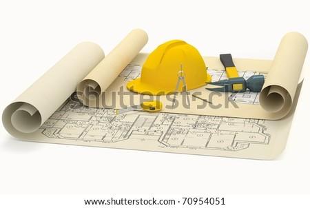 Building concept - stock photo