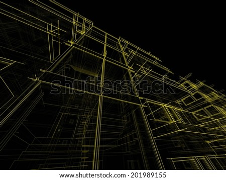 building constructions - stock photo