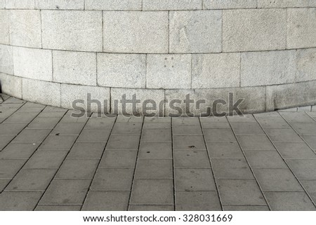 building detail in Stockholm - stock photo