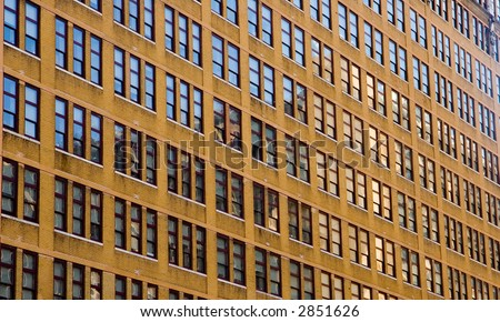 Building Face Background - stock photo