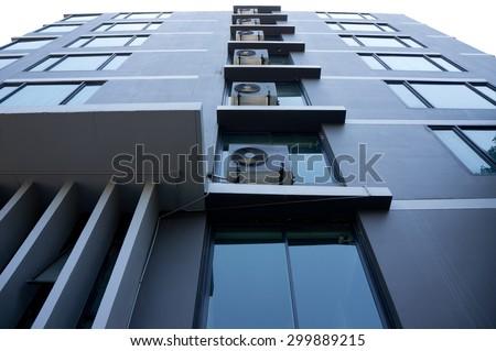 Building Glass - stock photo