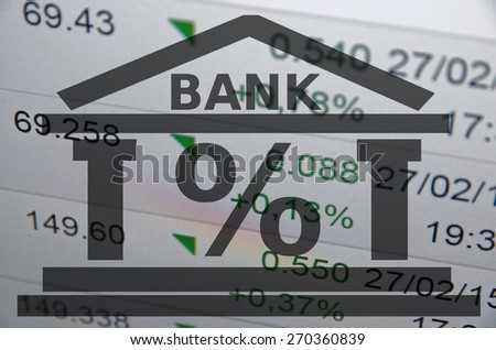 Building icon. Bank abstract. - stock photo