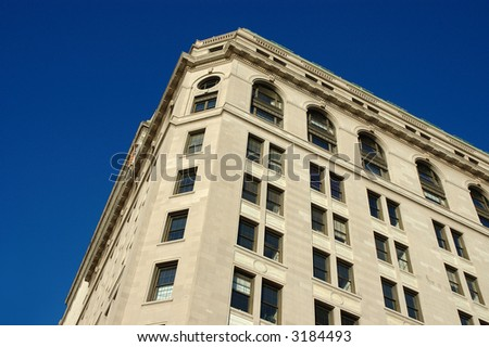 Building in Big City - stock photo