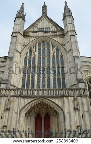 Building in Chichester - stock photo