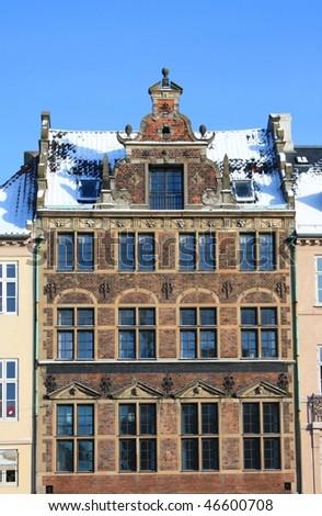 Building in Copenhagen - stock photo