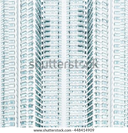 building in Hongkong. - stock photo