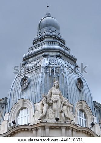 Building in Sofia, Bulgaria - stock photo