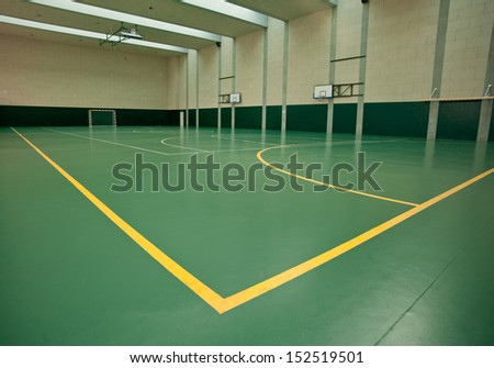 building intended for use in various sports - stock photo