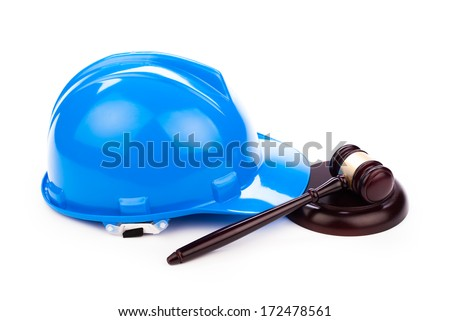 building law - stock photo
