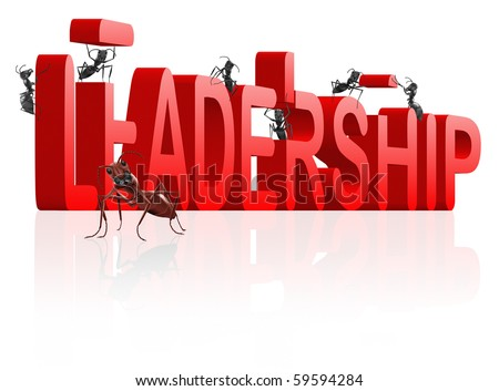 building leadership innovate and create success lead the market be the leader trough innovation - stock photo