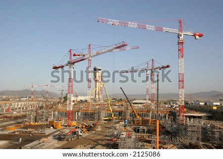 Building site - stock photo