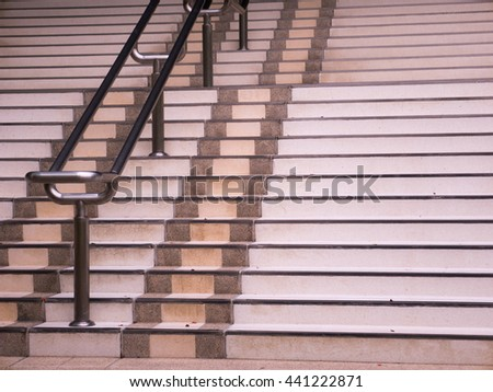 building stair - stock photo