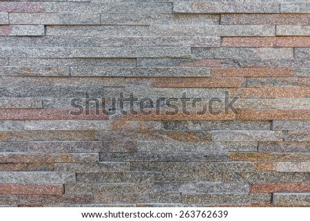 Building stones design setting use - stock photo