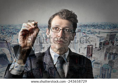 Building the future  - stock photo