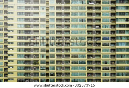 Building windows at day time, abstract  Background. - stock photo
