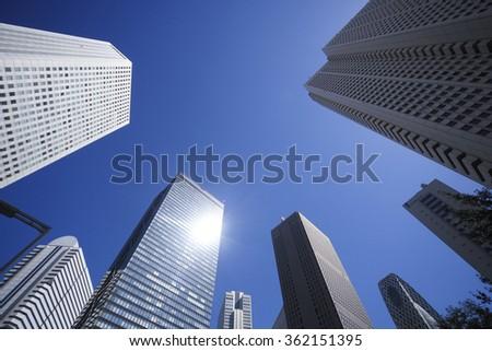 Buildings - stock photo