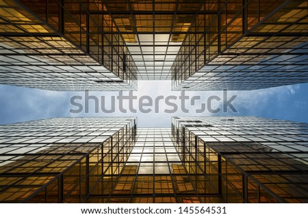 Buildings abstract  - stock photo