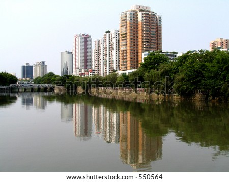 Buildings at Shantou, China