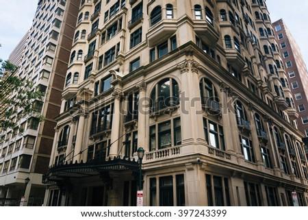 Buildings in Philadelphia, Pennsylvania. - stock photo