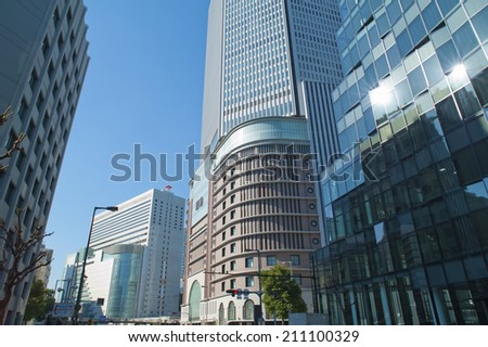 Buildings Of Osaka Station