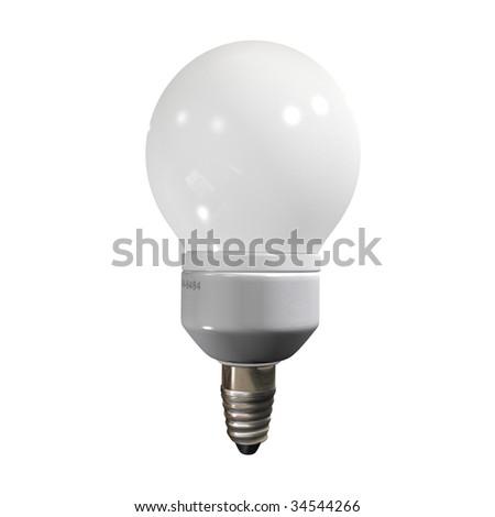 bulb low - stock photo