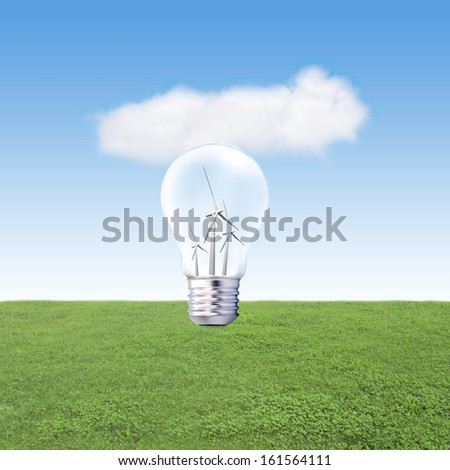 bulb with windmills