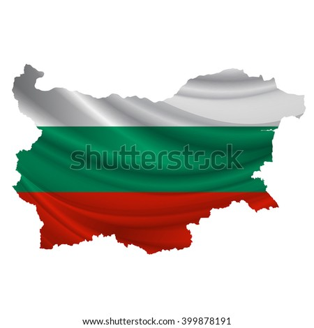 Bulgaria.Flag map icon