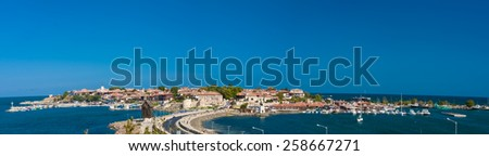 Bulgaria, Nesebar - AUGUST 29, 2014: Summer in Nesebar  - stock photo