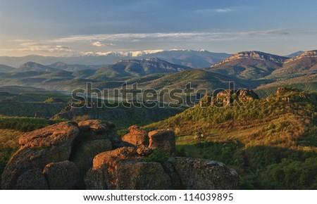 Bulgarian Old mountain - stock photo
