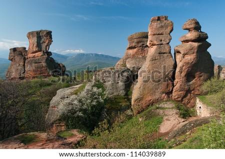 Bulgarian rocks - stock photo