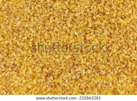 Bulgur background - stock photo