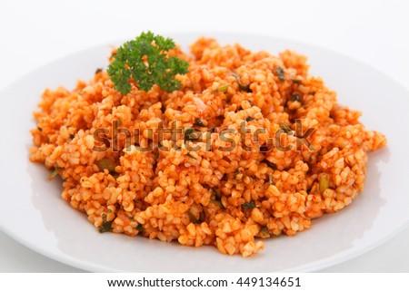 Simple Bulgur Pilaf Recipe - Genius Kitchen
