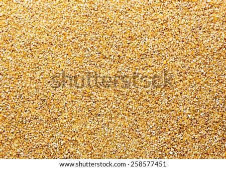 Bulk of corn - stock photo