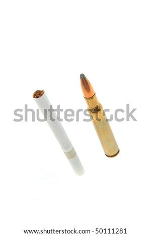 bullet and a cigarette